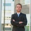 Young business man — Stock Photo