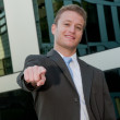Young business man — Stock Photo #5594760