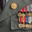 World War Two Medals — Stok fotoğraf
