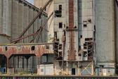 Abandoned Grain Elevator — Stock Photo