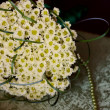 Bridal bouquet of daisies — Photo