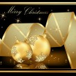 Merry Christmas  background — Image vectorielle