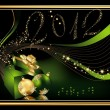 Happy New Year 2012 background — Stock vektor