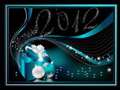 Happy New Year 2012 background — Stock Vector