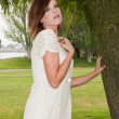 White dress — Stock Photo #6637616