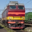 Stock Photo: Electric locomotive ЧС-4т
