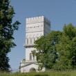Foto de Stock  : White tower. Tsarskoje Selo