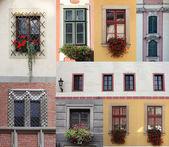 Set of windows — Stock Photo
