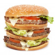 Big hamburger — Stock Photo #6194411