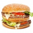 Stock Photo: Hamburger