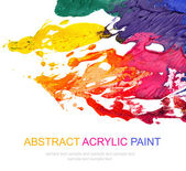 Abstract acrylic painted background — Stock Photo