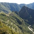 Stock Photo: Mountain road to Machu Picchu