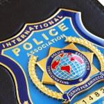 Police badge — Stock Photo