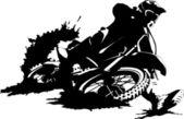 Pista de héroe — Vector de stock