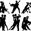 Royalty-Free Stock Imagen vectorial: Invitation to the dance