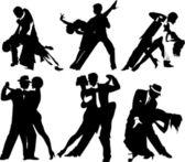 参加舞会的邀请 — 图库矢量图片