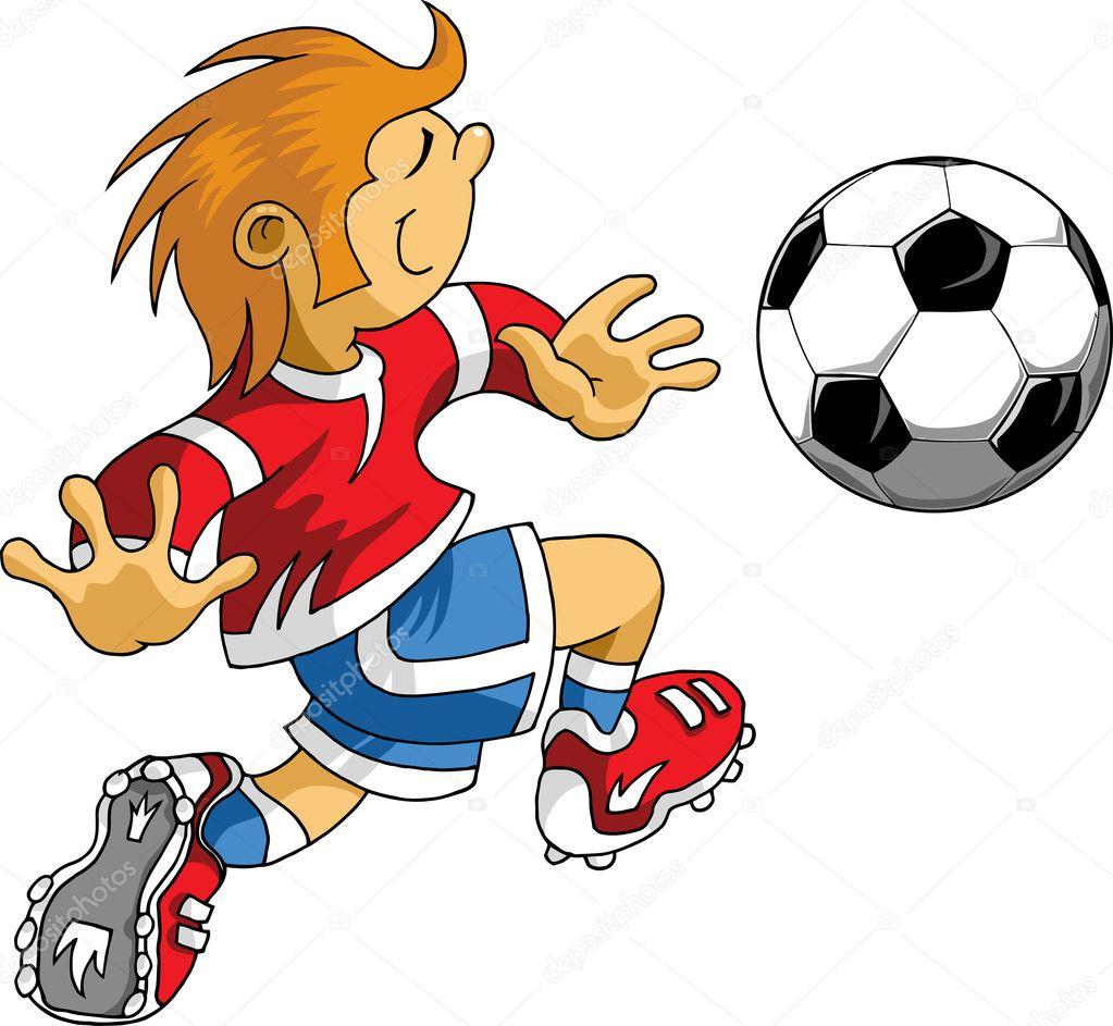 Рисунок связанный с футболом
