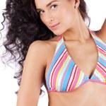 Beautiful young woman in bikini — Stock Photo #5521740