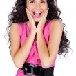 Beautiful happy young woman smiling — Stock Photo #5632689