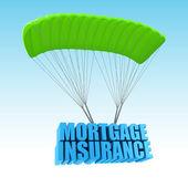Mortgage Insurance 3d concept illustration — Stock Photo