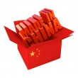 Made in China. 3d concept illustration isolated on white — Stock Photo #5806923