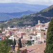 Taormina town in Sicily Italy — Stock Photo #5994408