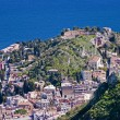 Taormina town in Sicily Italy — Stock Photo