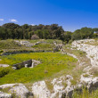 Syracuse Sicily roman arena — Stock Photo