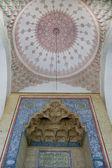 Mosque ceiling decoration in Sarajevo — Stock Photo
