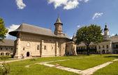 基督教东正教修道院教堂 — 图库照片