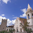 Taormina town center — Stock Photo