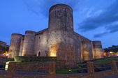 Ursino castle in Catania Sicily Italy — Stock Photo
