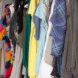 Messy wardrobe — Stock Photo