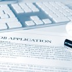 Job application — Stock Photo