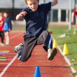 Stock Photo: Long Jump