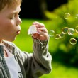 Blowing Bubbles — Stock Photo #5432387