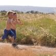 Running children — Stock Photo
