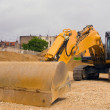 Moving Dirt - Stock Photo