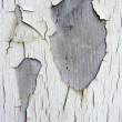 Old painted wood — Stock Photo