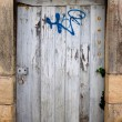Stock Photo: Old door texture