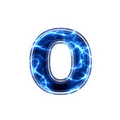 电动 3d 字母-o — 图库照片