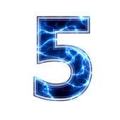 Elektryczny cyfrowy 3d — Zdjęcie stockowe