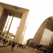 La defense Arch — Stock Photo