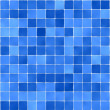 Blue Tile Background - Stock Photo