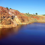 Abandoned mining exploration at S.Domingos, Portugal. — Stock Photo
