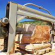Royalty-Free Stock Photo: Machinery in quarry of marble extraction.