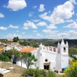 Stock Photo: White church in Mertola, south of Portugal.