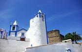 Kerk van alegrete village, portalegre, portugal. — Stockfoto