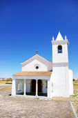 Church in Luz village, Portugal. — Stock Photo