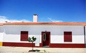 House at portuguese village, alentejo region. — Stock Photo
